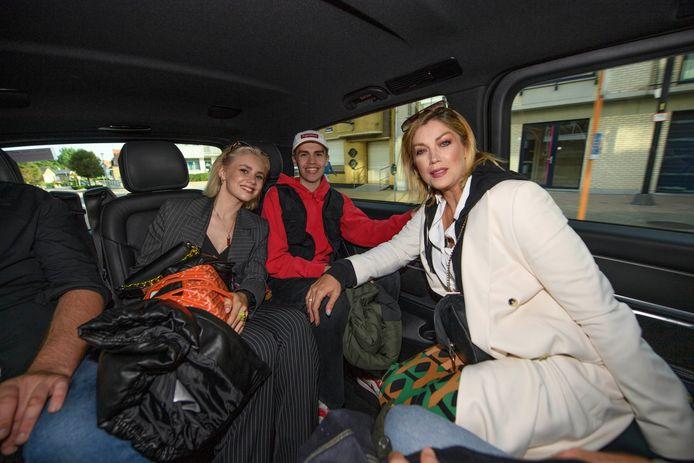 Shania en Kenji Gooris en Kelly Pfaff