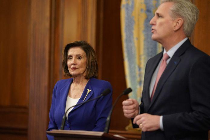Nancy Pelosi et Kevin McCarthy