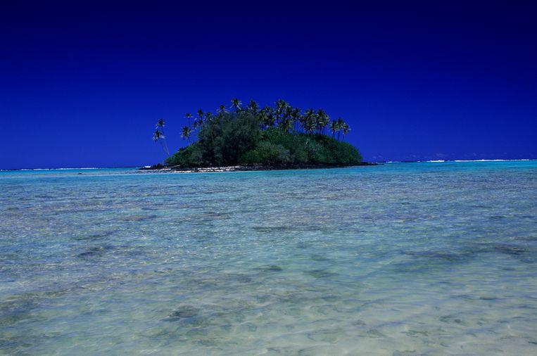 Rarotonga, onderdeel van de Cookeilanden in de Grote Oceaan.   Beeld Getty Images