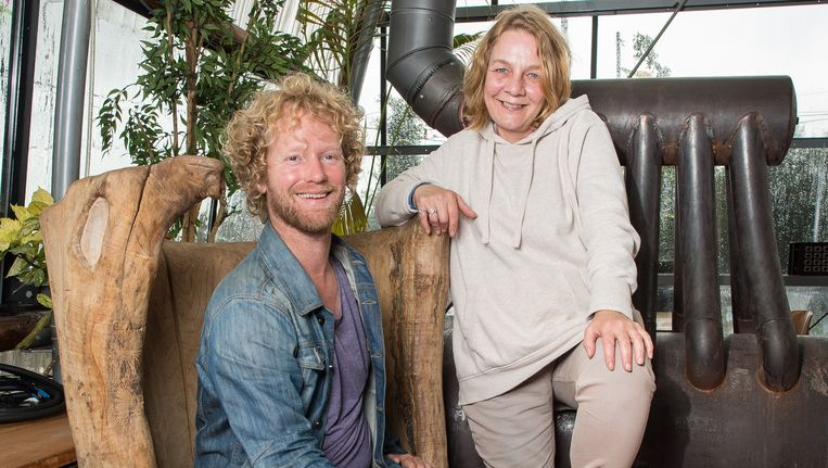 Jasper Helmer en Jolien van der Maden. Beeld Mats van Soolingen