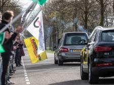 Erehaag voor overleden 'bloemenmeester' van corso in Lichtenvoorde