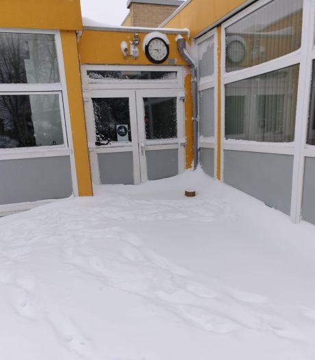 Meeste Achterhoekse kinderen niet naar school vanwege winterweer: 'Dan is er tenminste duidelijkheid'