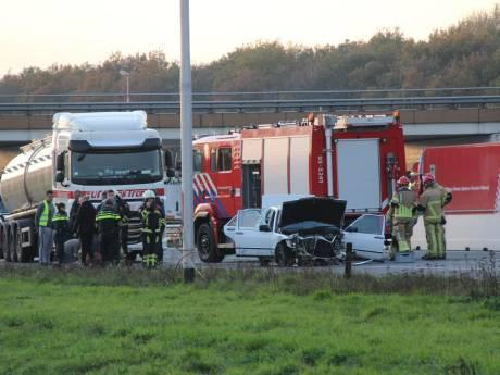 Persoon raakt ernstig gewond bij eenzijdig ongeval op A1 bij Holten