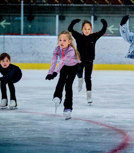 Hittegolf? Op de ijsbaan hebben schaatsers nergens last van