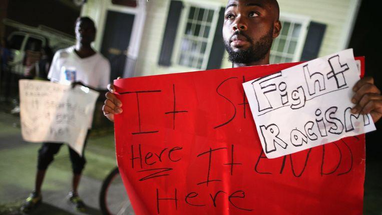 Bij elk incident tussen blank en zwart wordt de klemtoon al snel op het rassenverschil gelegd. Beeld Getty Images