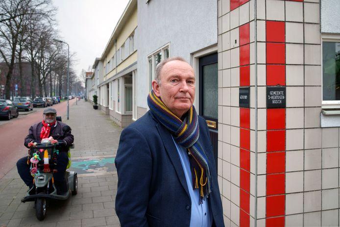 Paul Hilgers op de Graafseweg.