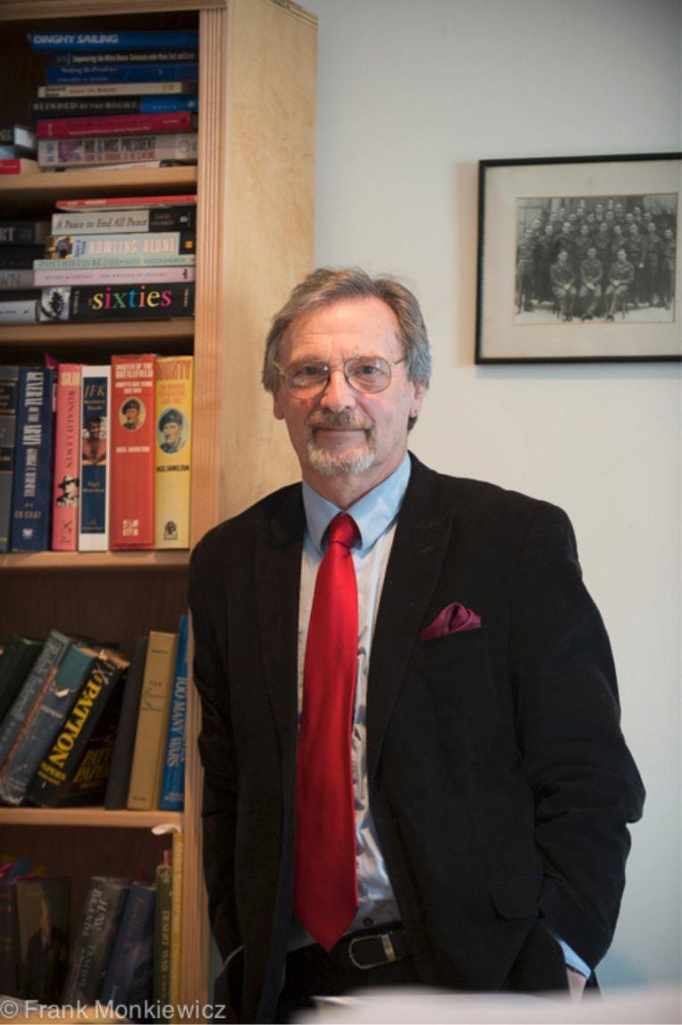 Nigel Hamilton. Beeld