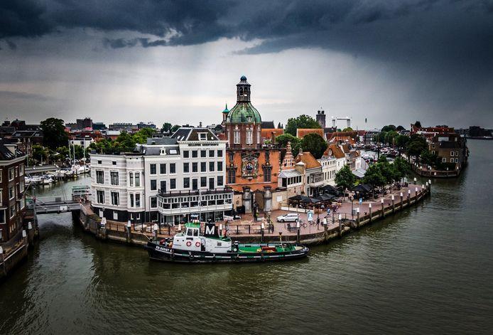 Het iconische hotel-restaurant Bellevue in Dordrecht ging failliet.
