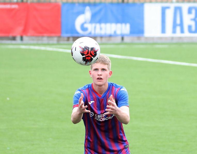 Philip Gililow speelde het afgelopen seizoen bij de Russische topclub CSKA Moskou. Beeld yflrussia.ru / Bykova Evgenia