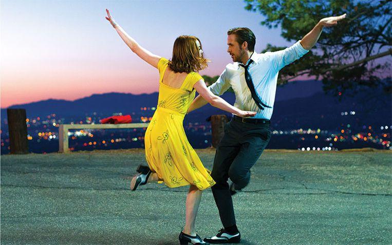 Emma Stone en Ryan Gosling in La La Land