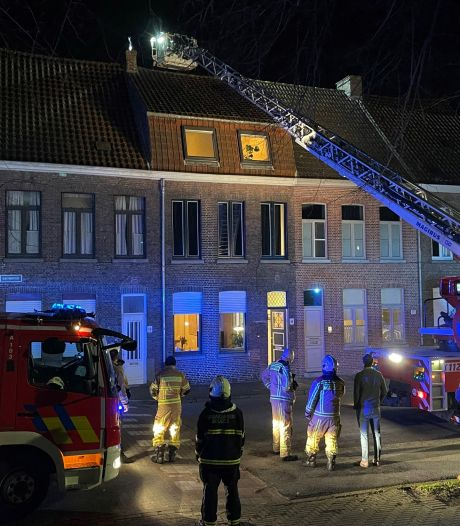 Even vrees voor woningbrand langs Gentpoortvest