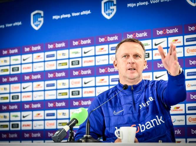 """Racing Genk begint aan zeven matchen in 25 dagen, coach Van den Brom: """"Druk programma geen excuus"""""""