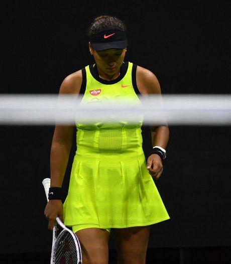 Emotionele Osaka last na roerige periode tennispauze in: 'Dat is niet meer normaal'