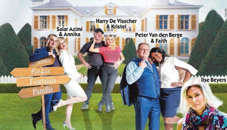 De cast van 'De Gelukzoekers'