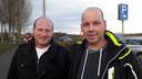 Marcel Aarts (links) uit Sint-Oedenrode en Anton van den Broek (rechts) uit Schijndel waren ambassadeurs voor Glasvezel Buitenaf.