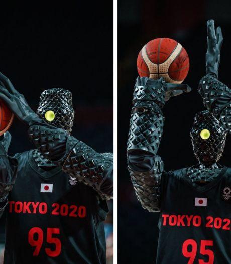 Toyota présente un robot basketteur qui réussit tous ses paniers