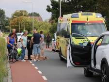 Oudere fietsster raakt gewond na val van fiets in Kwintsheul