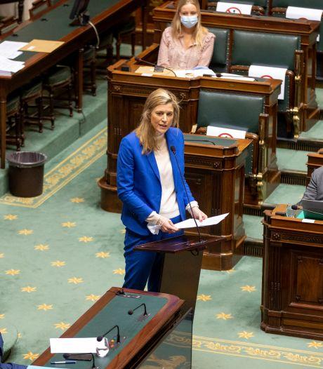 Annelies Verlinden soumet l'arrêté avec les mesures corona au Conseil d'Etat