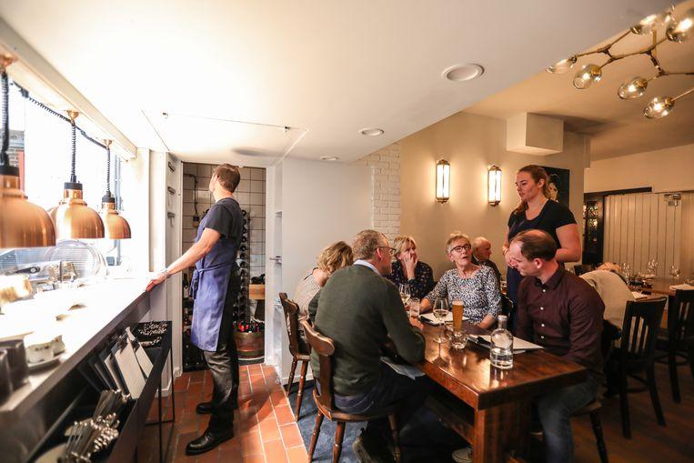 Lazuur is een échte, oprechte zaak met uitstekende bediening en dito gerechten. Beeld Eva Plevier