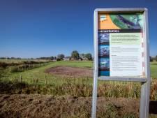 Wat rest op plek amfibieënpoel bij Ommen is een zandvlakte; wat gebeurde er mee?