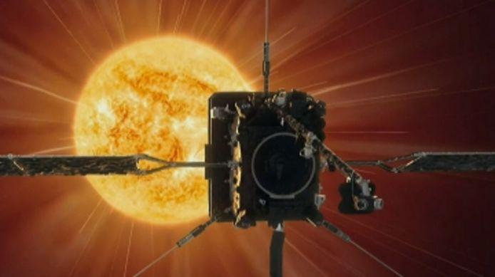 La sonde Solar Orbiter.
