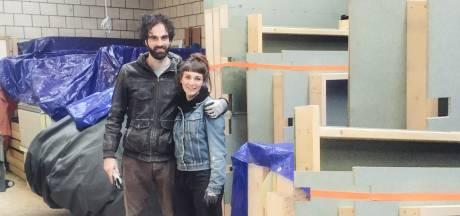Van klein naar nog kleiner: Thijs en Ella gaan in een tiny house wonen én denken aan gezinsuitbreiding