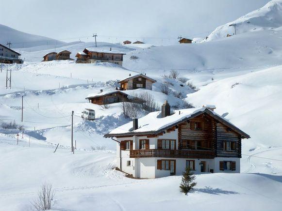 Het skigebied Fideriser Heuberge is vooral bekend omwille van zijn 12 kilometer lange rodelbaan.