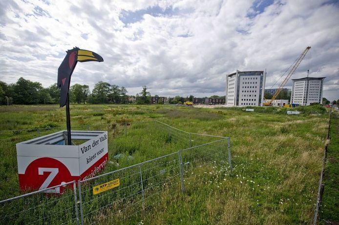 Door een centenkwestie wordt er nog steeds niet gebouwd aan de Zuiderval. Foto: Emiel Muijderman