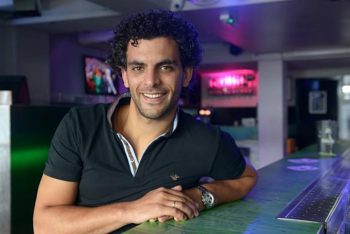 Farid Bicane begon acht jaar geleden in de Klappeijstraat met zijn Club Sweet.