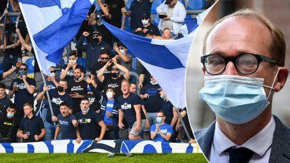Minister van sport Ben Weyts halveert stadioncapaciteit Luminus Arena nadat fans coronaregels aan hun laars lappen