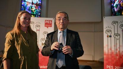 Louis Tobback krijgt erepenning van Europese socialisten