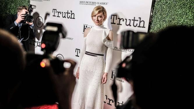 Cate Blanchett vindt selfies maken een zielige bezigheid