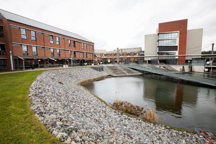 Een beeld van campus Sint-Jan in Genk.