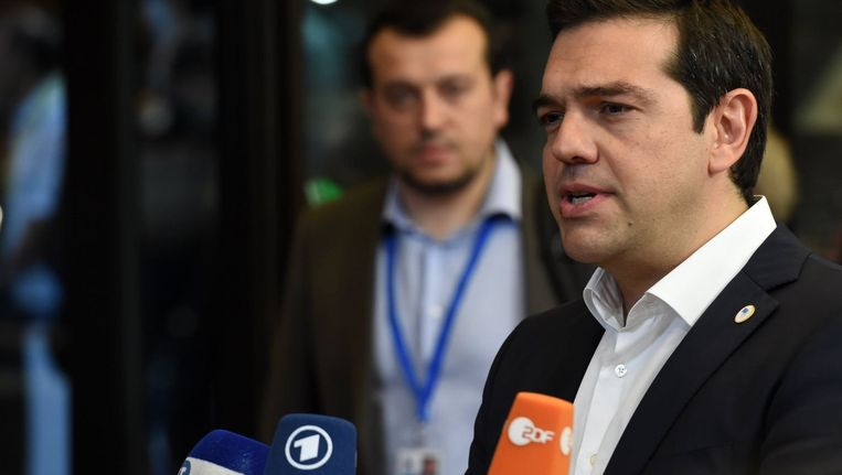 Alexis Tsipras. Beeld PHOTO_NEWS