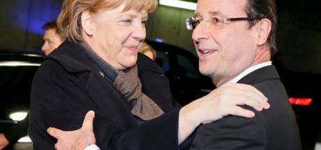 Escapade culturelle en terrain miné pour Merkel et Hollande