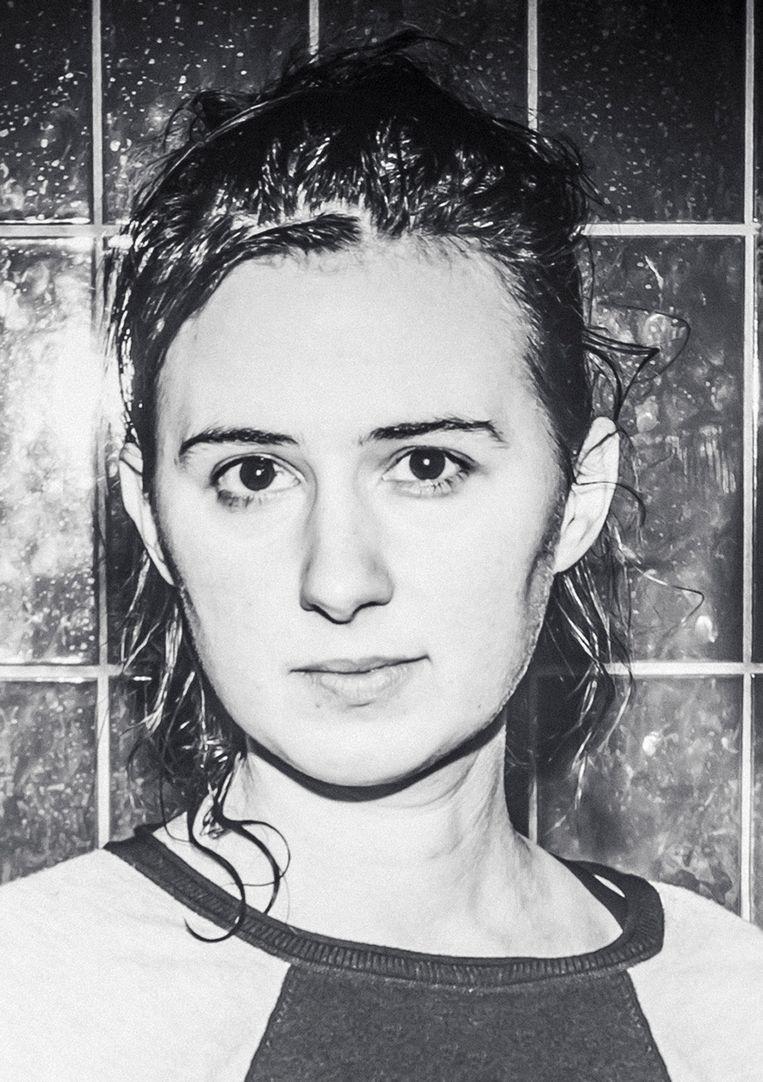 Maud Vanhauwaert gaat twee jaar dichten voor en over Antwerpen. Beeld Jimmy Kets