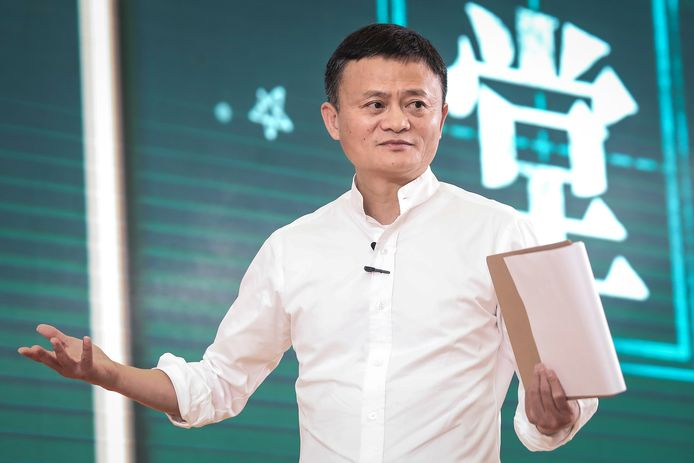 Jack Ma, mede-oprichter van de Alibaba Group