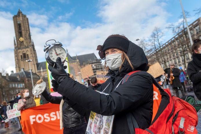 Alle wekkers, toeters en bellen werden van stal gehaald voor het Arnhemse klimaatalarm