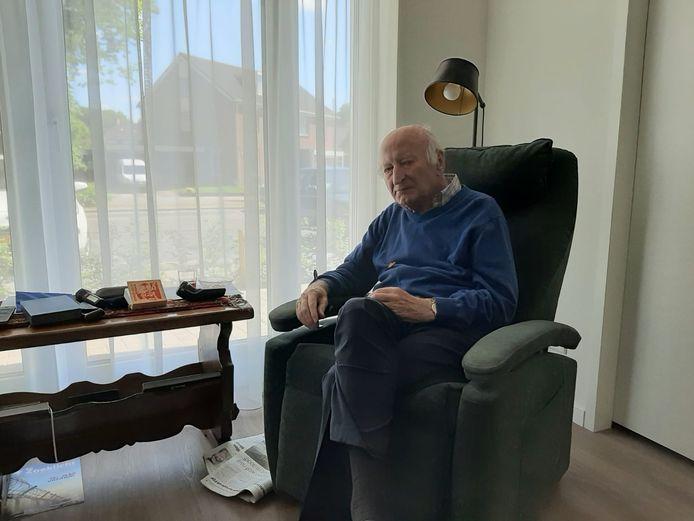 Gerrit van Panhuis had voor het eerst in 2,5 maand weer direct contact met zijn dochter Magda.
