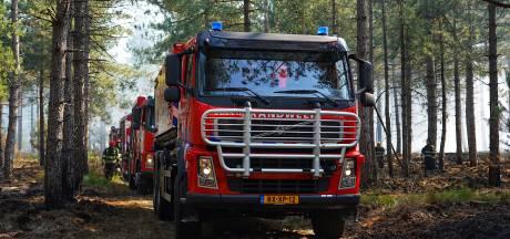 Paar honderd vierkante meter verloren gegaan bij natuurbrand op Cartierheide