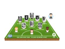 Kwart eeuw Helmond Sport op middenveld gouden team