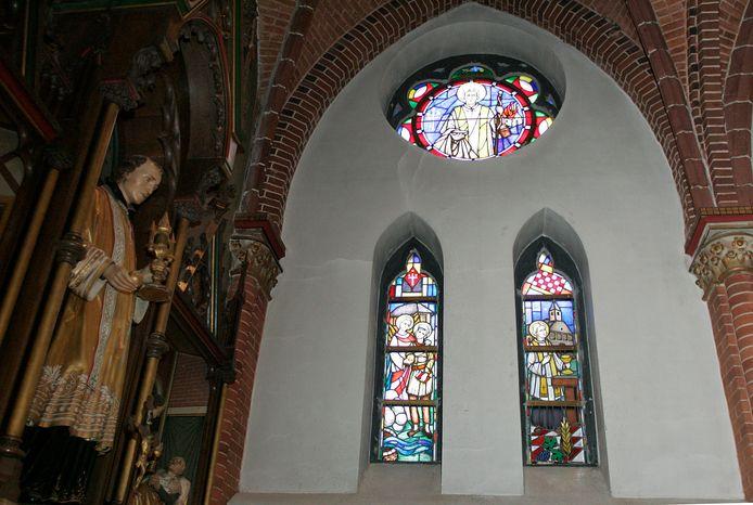 De Odulphuskerk in Best. Archieffoto
