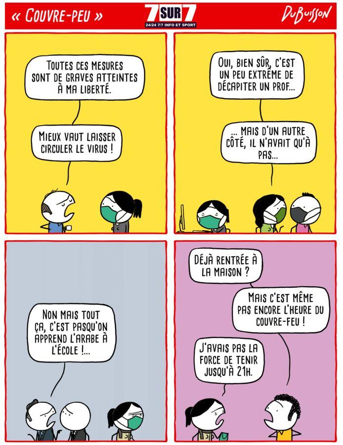"""""""Couvre-peu"""", 19 octobre 2020"""