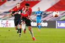 PSV-spits Donyell Malen staat bij veel clubs in de belangstelling en zou na dit seizoen weleens kunnen vertrekken uit Eindhoven.