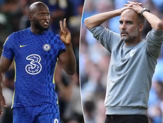 """Guardiola steekt bewondering voor Lukaku niet weg: """"Chelsea is sterker met hem erbij"""""""