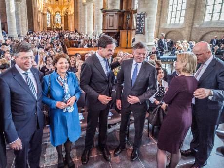 Hoog bezoek in Nieuwe Kerk bij Matthäus Passion