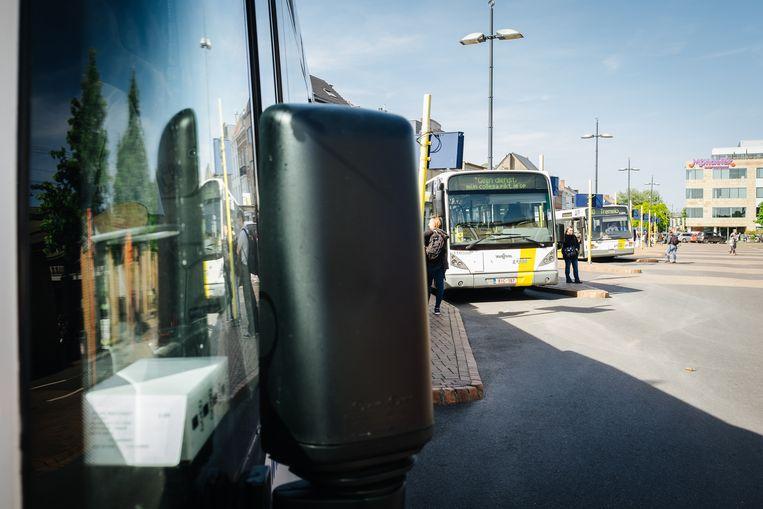 Onder meer het openbaar vervoer dreigt woensdag helemaal verstoord te worden. Beeld Alexander D'Hiet