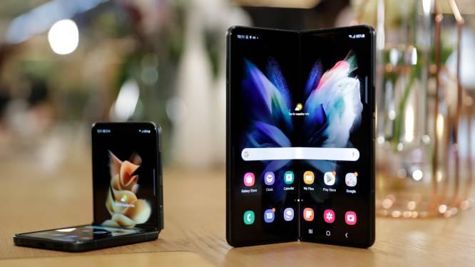 Samsung profiteert van sterke vraag naar opvouwbare smartphones