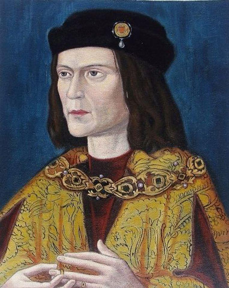 Een portret van Richard III. Beeld EPA