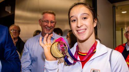 """Derwael keert honderd procent tevreden terug van WK artistieke gymnastiek: """"Zot dat Simone Biles mijn naam nu kent"""""""